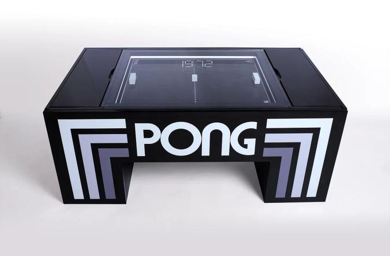 Gerardo Orioli creates real-life Atari Pong coffee table