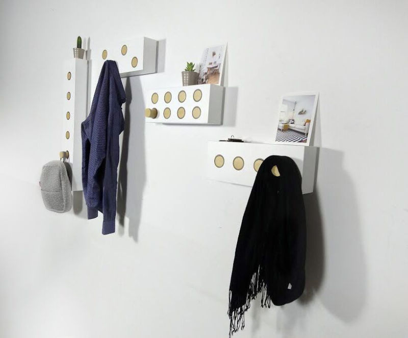 Köllen Tryk modular wall hanger to tidy up your home