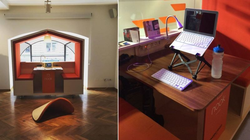Nook Pod is movable privacy solution for modern workplace