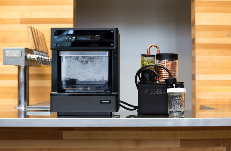 PicoBrew's Pico C brings craft beer brewing to kitchen