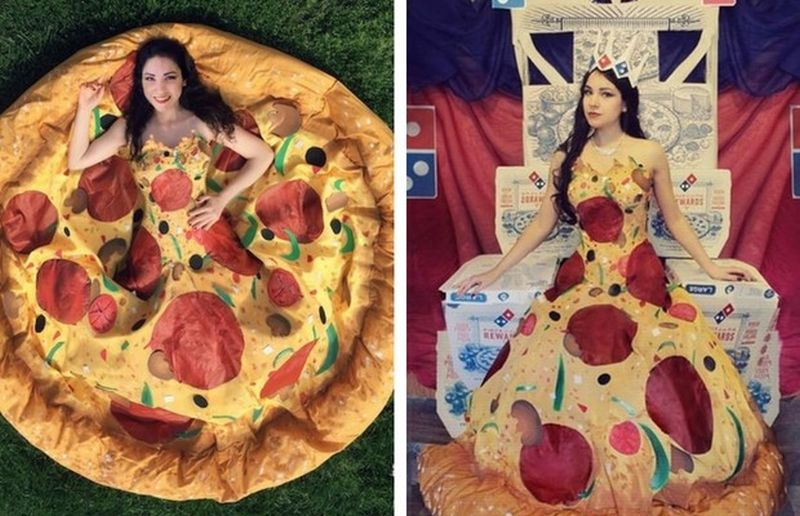 pizza-gown
