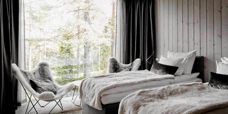 Arctic Treehouse Hotel Suite in Rovaniemi, Finland