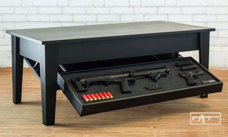 Concealment coffee table by TacticalWalls