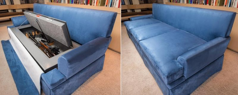 bullet-resistant sofa gun concealment furniture
