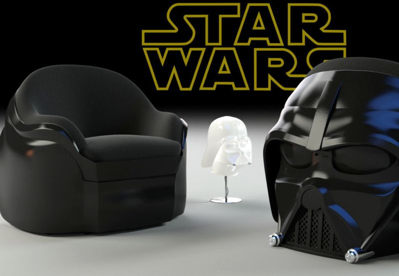 Darth Vader Dark Side Armchair