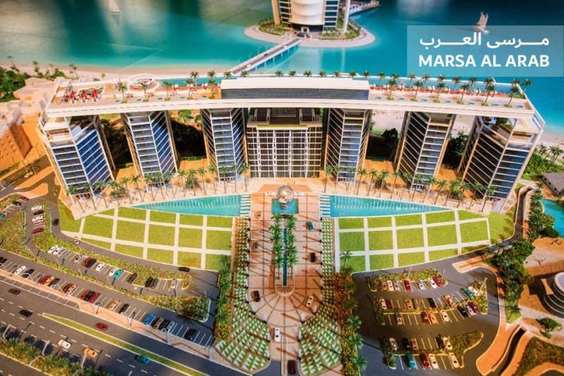 Dubai ruler unveils plans for Marsa Al Arab tourist resort to be built on artificial islands