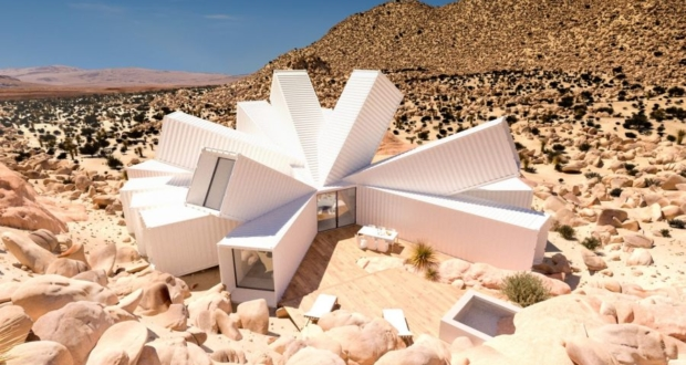 James Whitaker's shipping container house