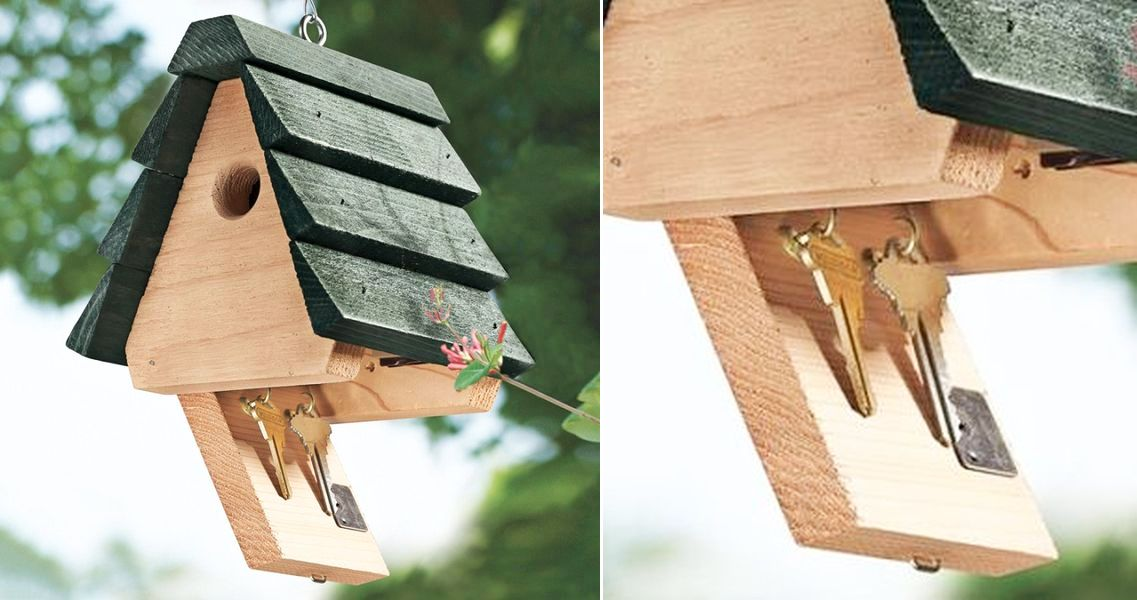 Key hider birdhouse by Looker Inc 2