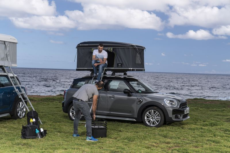 Mini Countryman Rooftop Tent