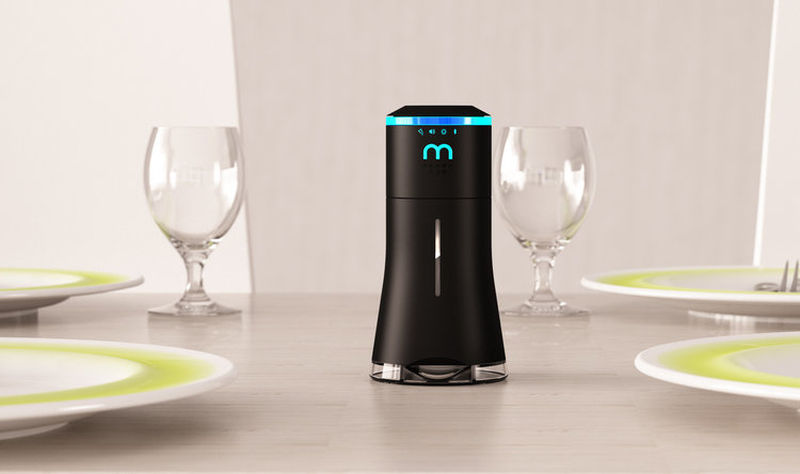 Smalt Salt Shaker has built-in speaker and mood lighting