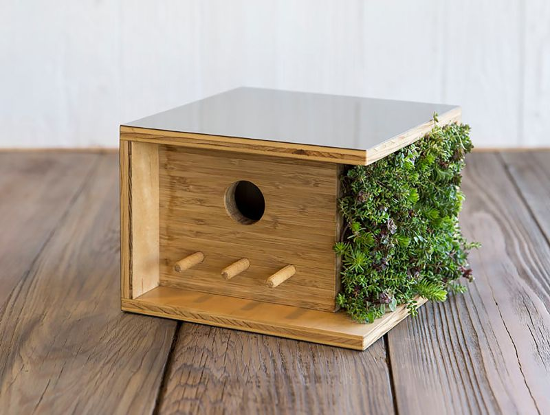 birdhouses inspired by historic architecture