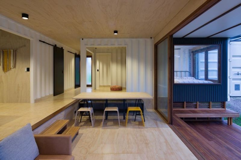 South Coast Container House by Matt Elkan