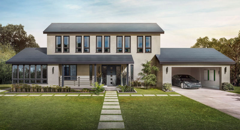 Tesla's starts taking orders for new solar roof tiles