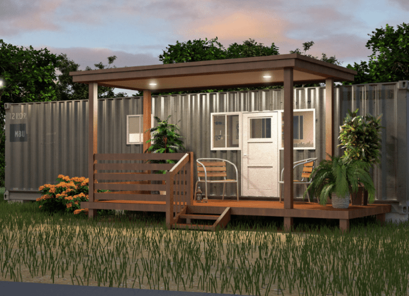 Tiny Container home by Keen development group