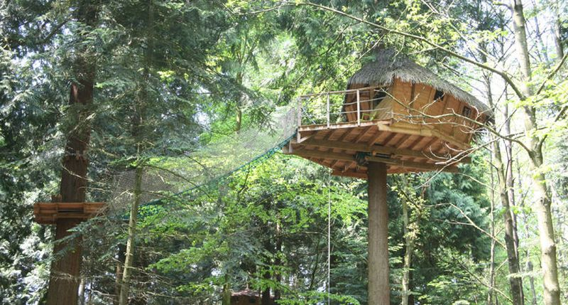 Tyrolean I Treehouse at Les Ormes, Domaine & Resort, France