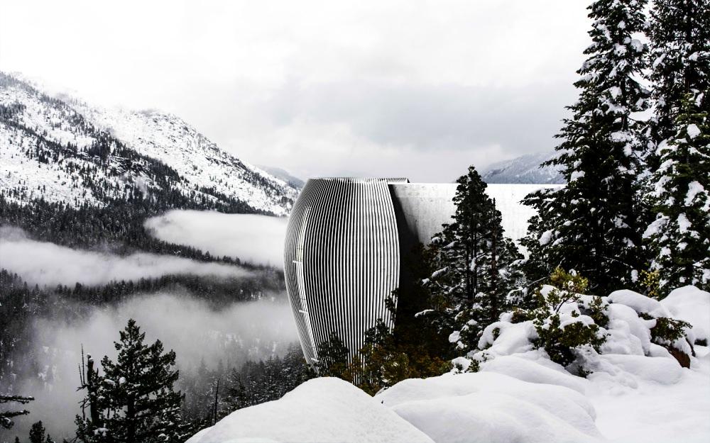 Verge cliff house by Antony Gibbon