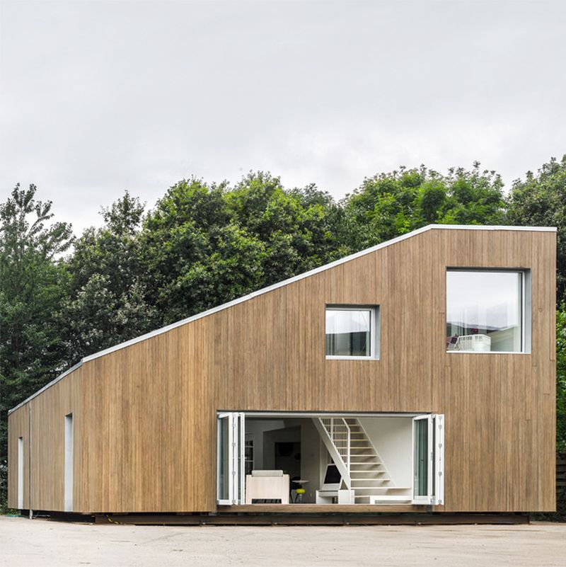 WFH shipping container house in Wuxi, China