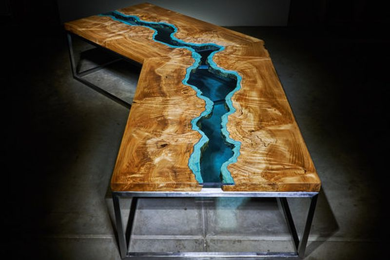 Winding River Coffee Table.