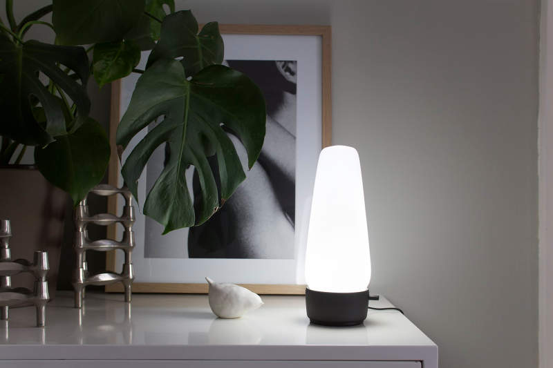 Covi smart lamp doubles as voice assistant