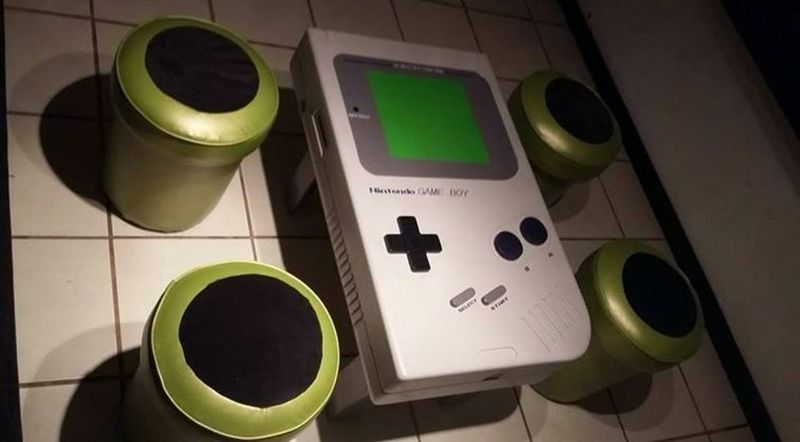 DIY Video Game Coffee Table