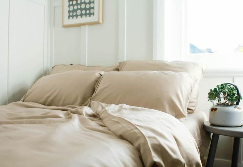 Ettitude coffee-infused bedding