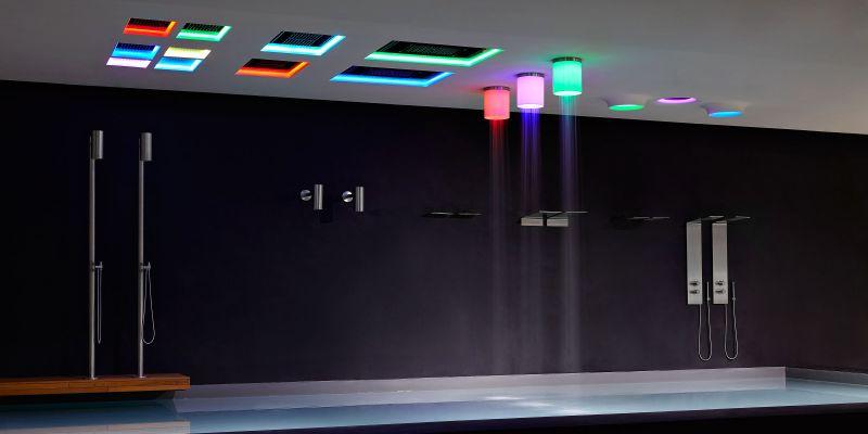 Iride showerhead by Antonio Lupi
