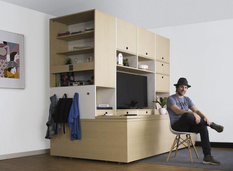 Ori Systems space saving modular furniture