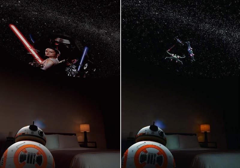 Takayuki Ohira designs Homestar BB-8 Home Planetarium for Sega Toys