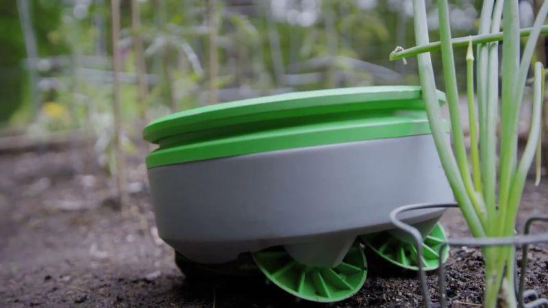 Tertill Solar-powered Weeding Robot