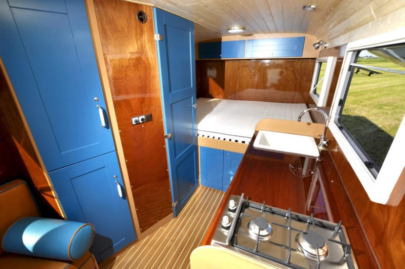 mobile homes often come with paneled interior walls