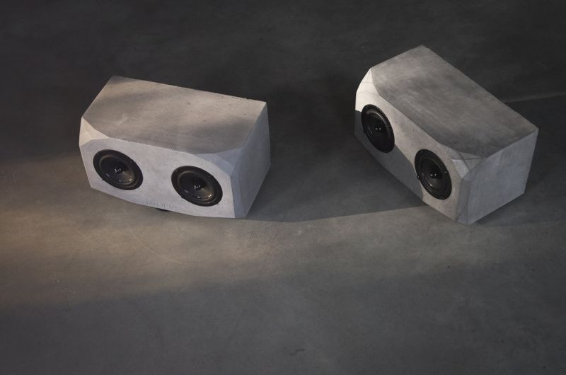UTOPIA concrete smart speaker