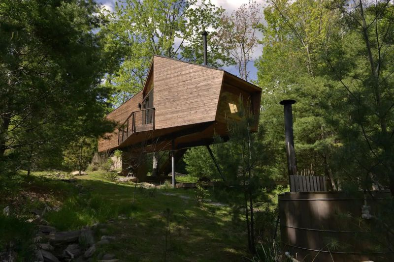 Willow Treehouse in New York is Amazing Piece of Architecture