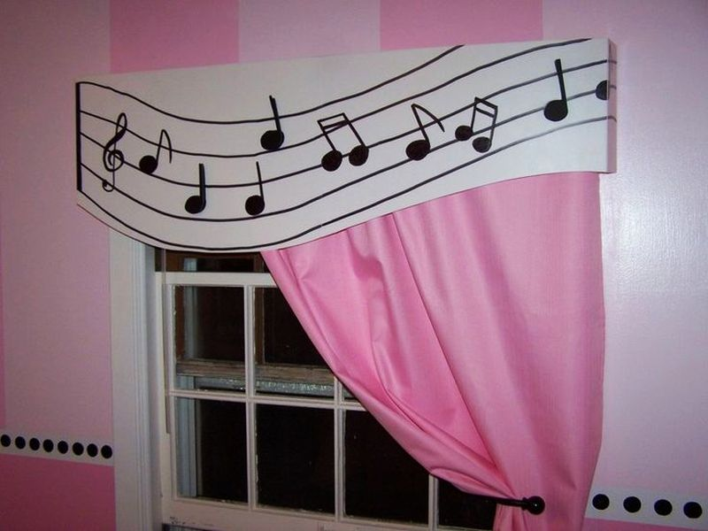 Windows for music-themed home decor