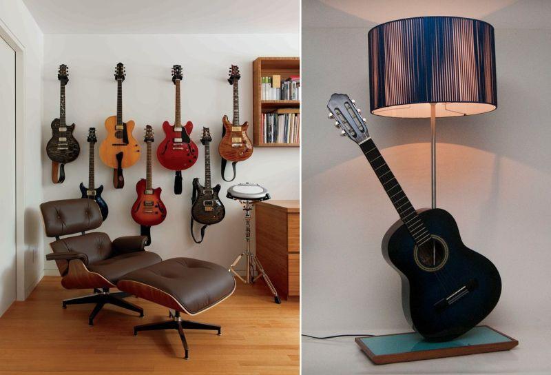 wall decor ideas for music-themed home decor