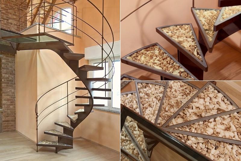 Spiral staircase by Bonansea