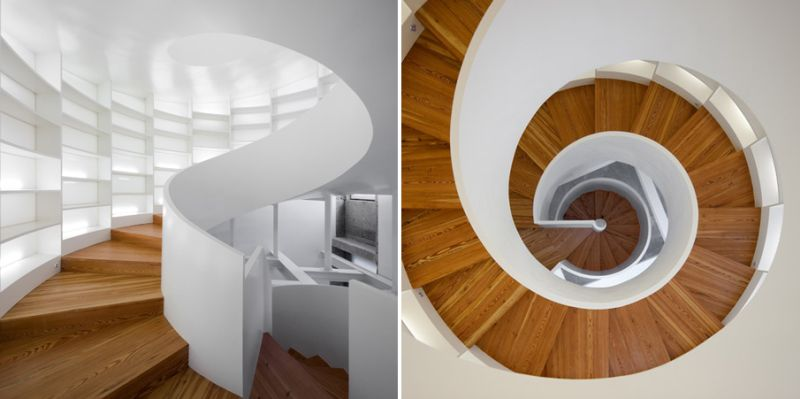 Spiral staircase by Manuel Maia Gomes