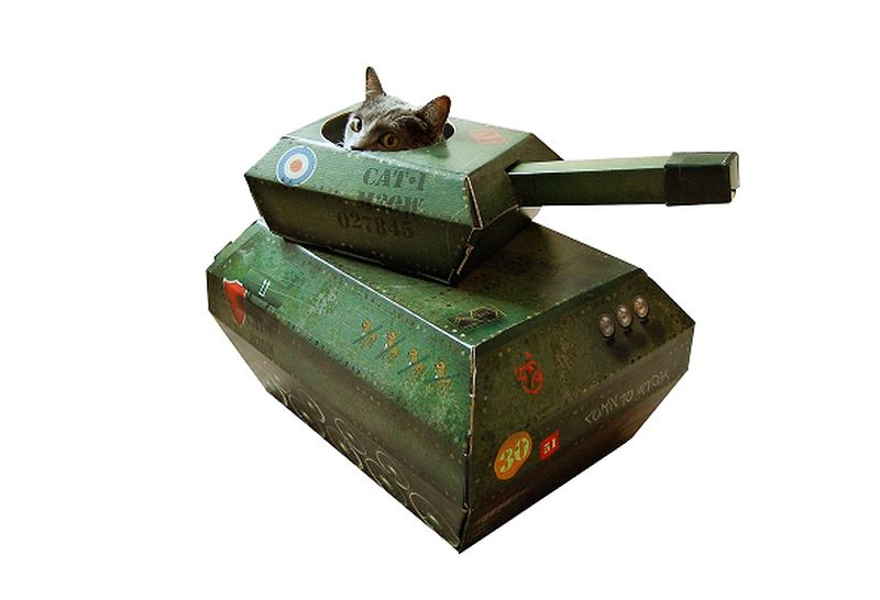 Tank cathouse