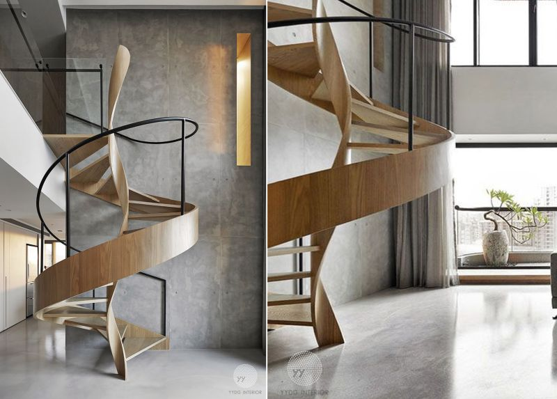 Spiral staircase by YYDG