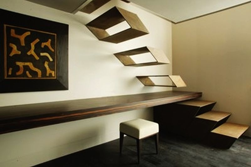 Guido Ciompi's floating staircase