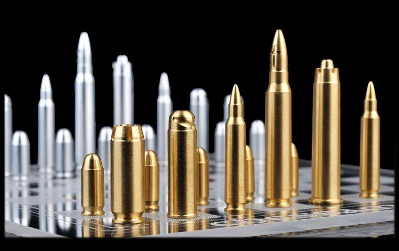 Bullet chess set