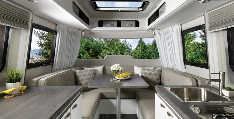 Airstream Nest is ultralight travel trailer for outdoor enthusiasts