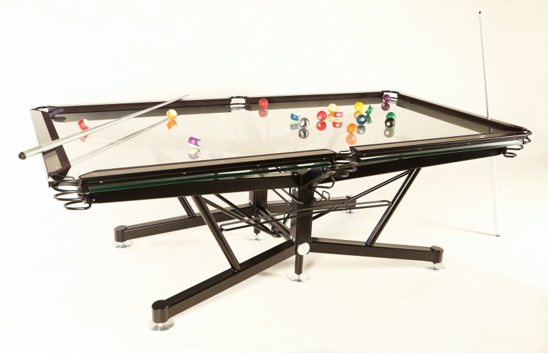 G1 Virtuoso Glass Pool Table by Elite Innovations