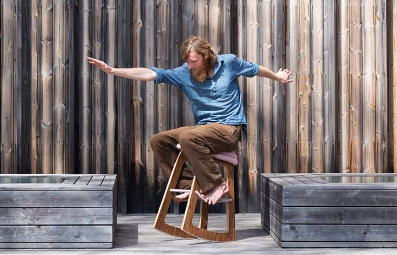 Muista chair lets you rock