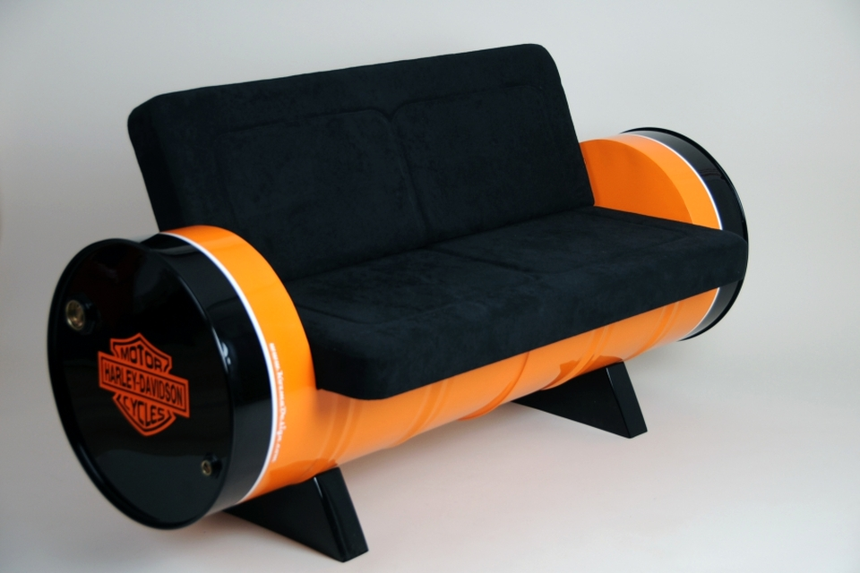 recycled Oil drum furniture ideas