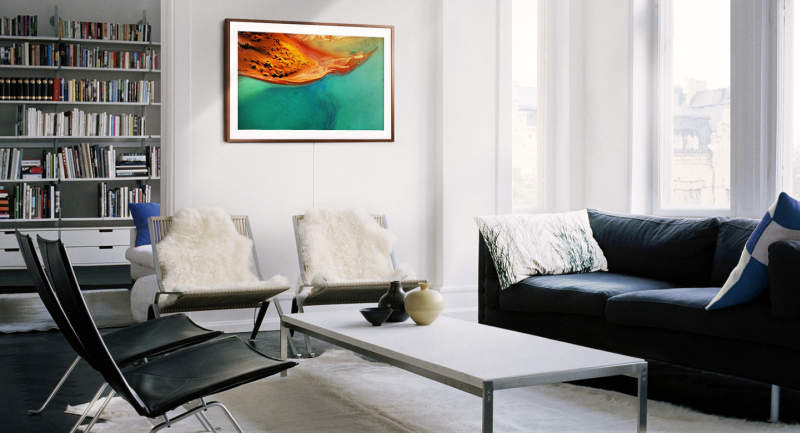 Samsung's Frame TV doubles as work of art when turned off