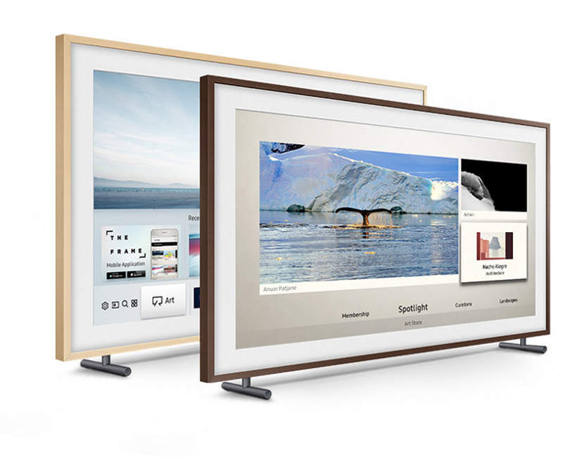Samsung's Frame TV doubles as work of art when turned off_1