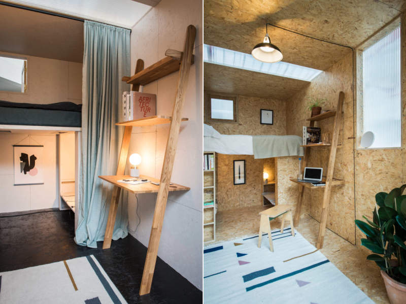 Studio Bark designs indoor modular cabin for Lowe Guardians