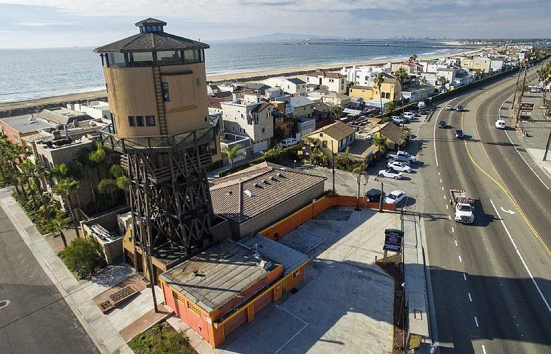water tower is now a rental house in California