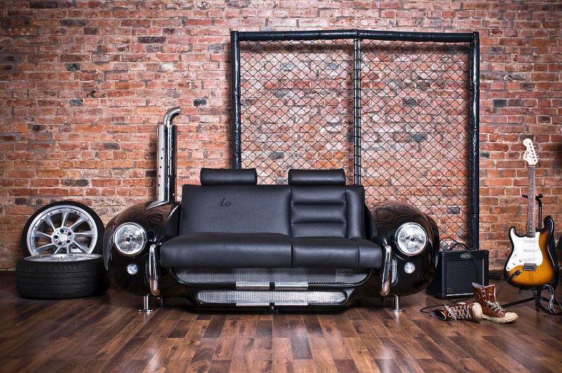 car inspired sofa