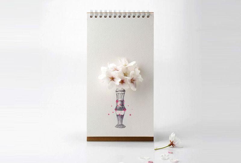 Tabletop vase by Lufdesign